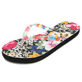 US Size 5-10 Women Summer Beach Soft Comfortable Flower Flats Fashion Sandals Slipper Shoes