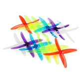 10 Pairs Racerstar 5040 4 Blade FPV Racing Propeller 5.0mm Mounting Hole for FPV Racing Frame