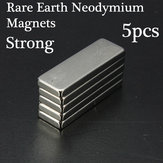 5pcs Rare Earth Neodymium Strong Cuboid Block Magnets N35 30x10x3mm