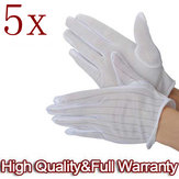 5 X ESD PC Computer Working Anti-static Anti Skid Gloves