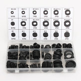 125 pcs 18 Different Sizes Rubber Grommet Assortment O Ring Kit