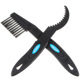 2Pcs Bicycle Chain Wheel Cleaning Brushes Cleaner Scrubber Tool