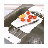 Retractable Stainless Steel Sink Shelf Chopping Block