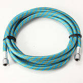 6inch Braided Airbrush Air Hose 1/8inch &1/8inch Adaptor