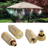 3/16 Inch Garden Irrigation Brass Misting Spray Nozzle Cooling Humidification Sprinkler