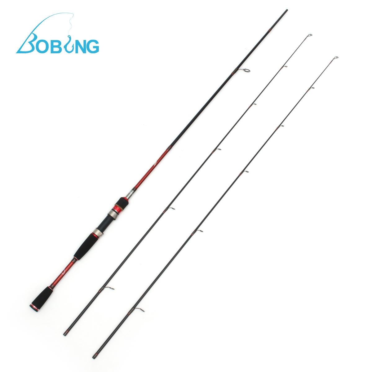 Bobing 2.1M Carbon Fiber ML Fishing Rod 5KG Load Bearing Spinning Fishing Rod