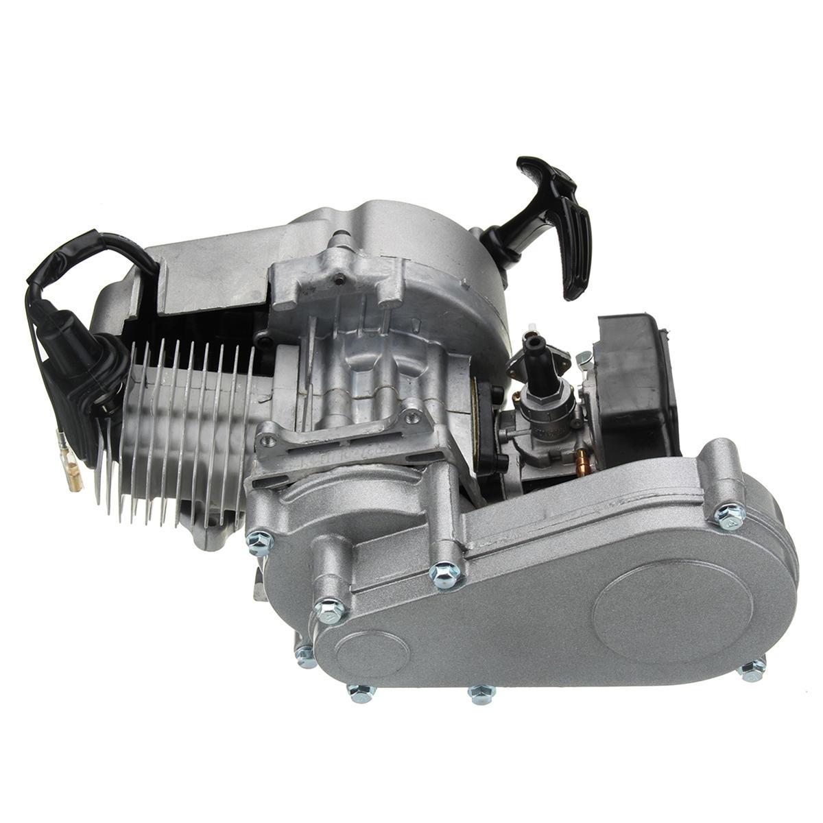 49cc Engine 2-Stroke Pull Start with Transmission For Mini Motor Pit Dirt Bike