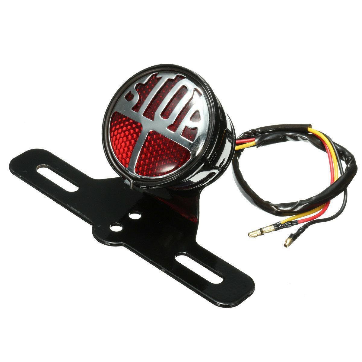 Motorcycle Rear Tail Brake Stop Light