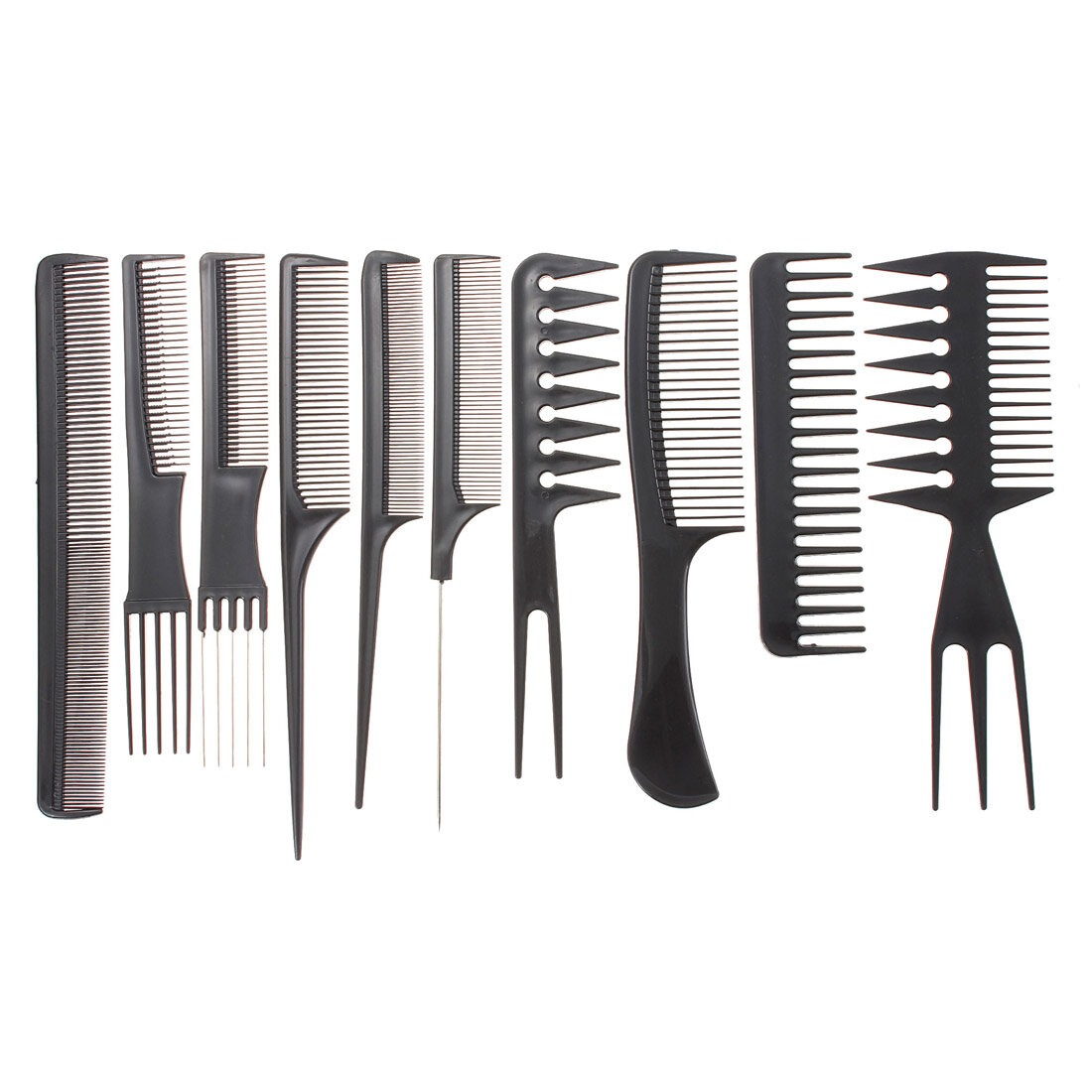 hair styling combs professional salon hair styling hairdressing plastic combs 7677