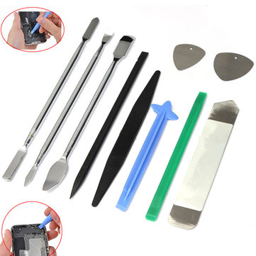 10 in 1 Opening Pry Repair Disassemble Tools Kit Set For Tablet Cell Phone