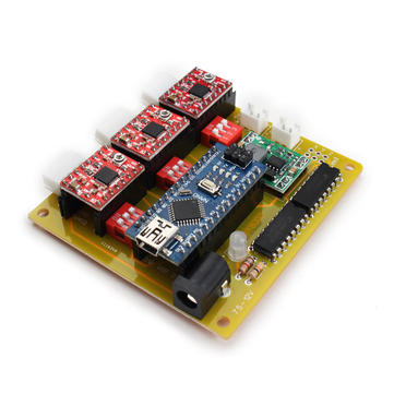 Usb Cnc 3 Axis Stepper Motor Driver Board Controller For