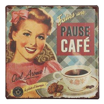 Кофе жестяная вывеска старинные металлические бляшки плакат Пивной бар дома стены декор