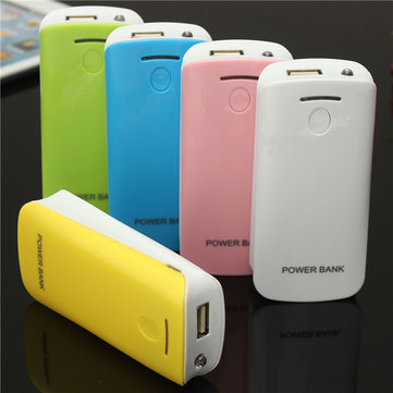 DIY 2*18650 Battery Power Bank Charger Box For iPhone Smartphone