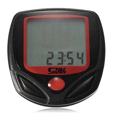 Bicycle Bike LCD Waterproof Display NR Computer Speedometer Odometer