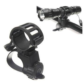 360 Fiets Fiets Zaklamp Torch Mount Holder Light Holder Clip