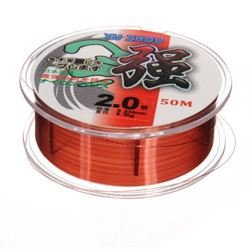 ZANLURE Sports Fishing Line 50m Fishing Main Line Carbon Fishing Line
