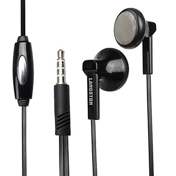 Langston langsdom q5 3.5mm in -ear auricolari stereo con microfono