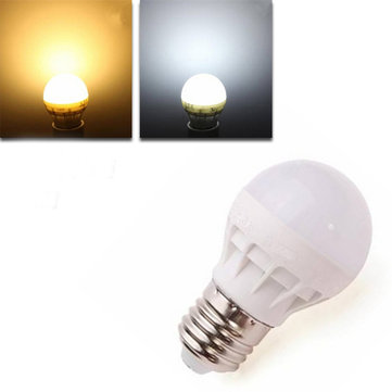 E27 LED 3W Warm White/White Energy Saving LED Bulb Light  AC220V