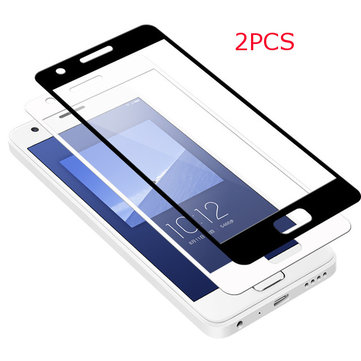 2PCS Tempered Glass Full Film Clear Screen Protector For Lenovo ZUK Z2