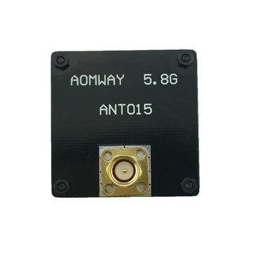 AOMWAY ANT015 5.8GHz 8dBi RHCP Rechterhand Circulaire Gepolariseerde Patch SMA Mannelijke RX FPV Flat Antenna