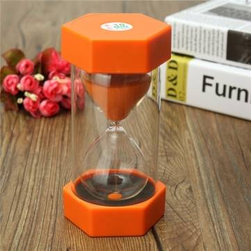 Sand Timer Hourglass Cooking Sport Clock Timer Sand Glass 10 Minute Home Decor To
