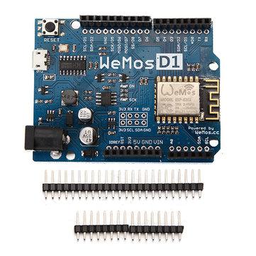 WeMos® D1 R2 WiFi ESP8266 Scheda di Sviluppo Compatibile Arduino UNO Programmato da Arduino IDE