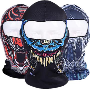 3d crânio ciclismo da motocicleta rosto cheio kini balaclava ski máscara uv proteger máscara facial