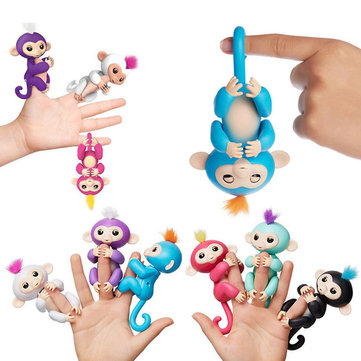 Buy Cute Interactive Baby Monkeys Smart Colorful Fingers Induction Toys For Kids Children Gift for $11.99 in Banggood store