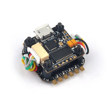 Teeny1S F4 Flight Controller Built-in Betaflight OSD + Teeny1S 4 In 1 6A BLHeli_S ESC for RC FPV Racing Drone