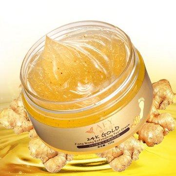 เอสเซนส์ 24K Essence Gold Ginger ครีมนวดเท้าสูตรเข้มข้น Dead Dead Skin Remover Mask