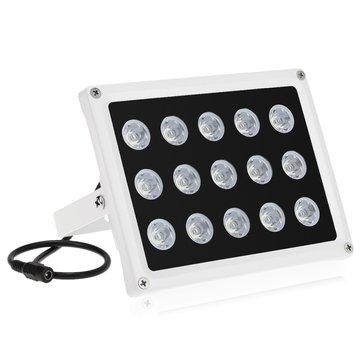 แสงอินฟราเรด 15 อาร์เรย์ IR LEDS Night Vision มุมกว้างน้ำกันน้ำกลางแจ้งสำหรับ CCTV ความปลอดภัย C