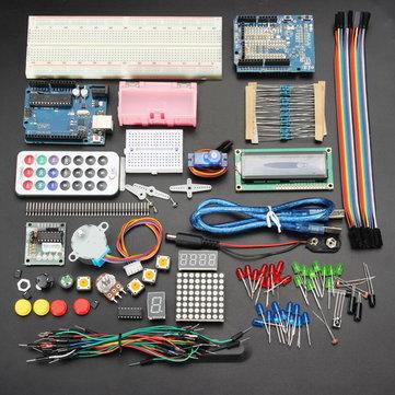 Geekcreit® UNO R3 Temel Başlangıç Öğretimi Kit Hayır Batarya Sürüm İçin Arduino