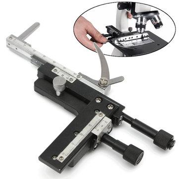 Mikroskop Çıkarılabilir Mekanik Evre XY Hareketli Aşama Kaliper ve Tartı