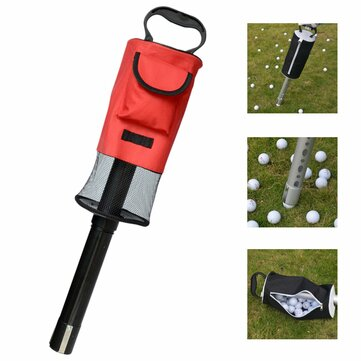 Draagbare Golf Ball Picker Pick-Ups Retrievers Pocket Storage Bag Scooping Device