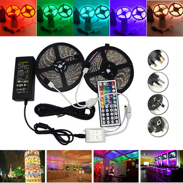 10M SMD 5050 Waterproof RGB 600