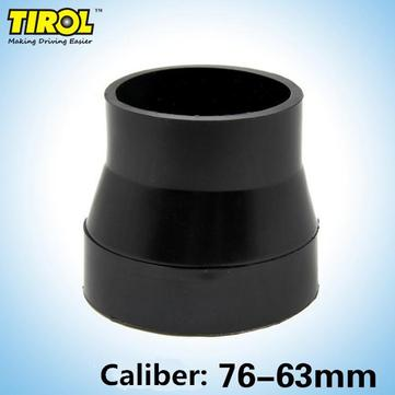 Tirol Universal Air Filter Modified Special Rubber Pipe Diameter 76mm-63mm Intake Adapter Interface
