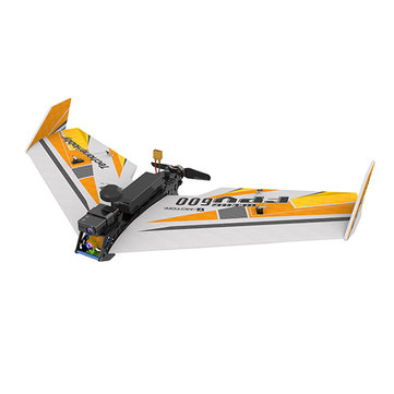 TechOne FPV Wing 600 650mm Wingspan EPP FPV Racer Carbon Frame RC Airplane Kit