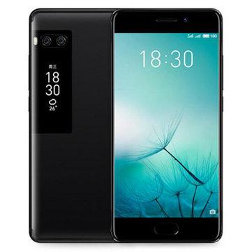 MEIZUPRO75.2인치듀얼 디스플레이 4GB 램 128GB ROM 헬리오X30 데카 코어 4G 스마트 폰