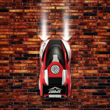 Pared de escalada rc unidades de automóviles súper con gravedad cero