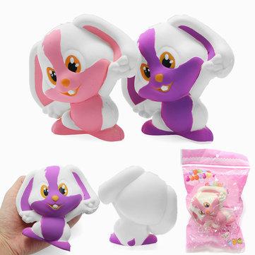 Coniglietto coniglio di Squishy 12cm Soft Slow Rising 8s con il giocattolo di decorazione del regalo di raccolta dell'imballaggio