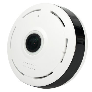 Buy 360 Degree Wireless IP Camera Fisheye IR Night Vision 1080P HD Panoramic Surveillance Home Security for $60.24 in Banggood store