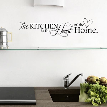 Kitchen Letters Love Wall Sticker Living Room Home Decoration Creative Decal  DIY Mural Wall Art Part 71