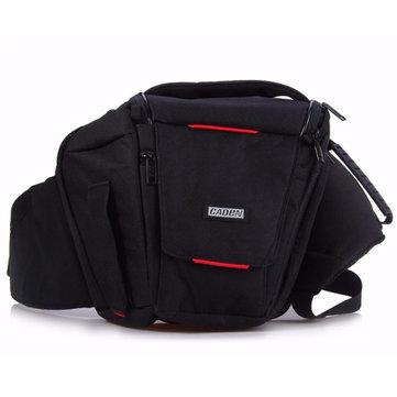 Caden K3 Cintura Paquetes Poliéster Suave Bolsa Para Canon Para Nikon Digital Cámara