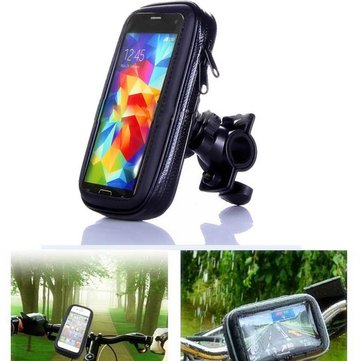 5.5 inch Universal Waterproof Vehicle Motorcycle Mount Holder Case