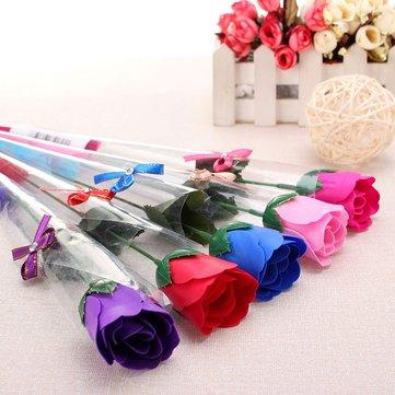 الإبداعية روز زهرة الصابون الحب حفل زفاف هدايا ديكور المنزل