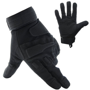 Four Seasons Gloves Fishing Motorcycle Motor Bike Outdoor Skiing Climbing Black M...