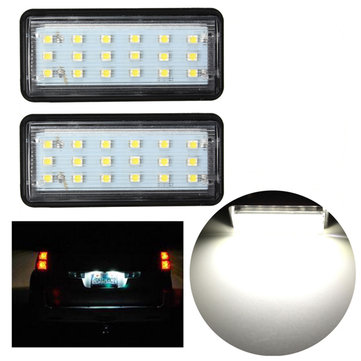 Buy 2x Error Free LED SMD License Plate Light For Toyota Land Cruiser,Lexus GX LX470 for $12.73 in Banggood store
