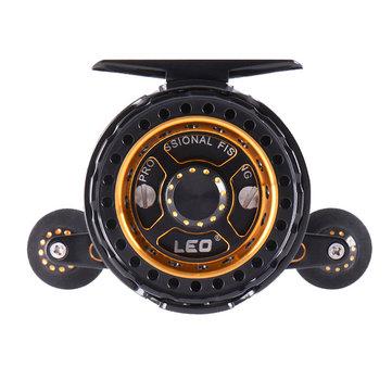 3.6: 1 alta velocidade micro chumbo jangada roda cnc tecnologia 6 + 1bb aviação alumínio mosca carretéis de equipamento de pesca
