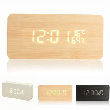 USB Voice Control Wooden Wooden Rectangle