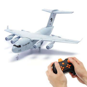 C17 C-17 운송 373mm Wingspan EPP DIY RC 비행기 RTF